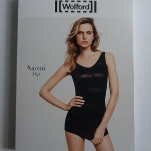 Wolford Deep Blue Naomi Sexy Top NWT Medium